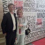 Davide Mauri e Loretta Lazzarini, titolare di Centro Servizi Immobiliari, a Las Vegas per il Mike Ferry Superstar Retreat