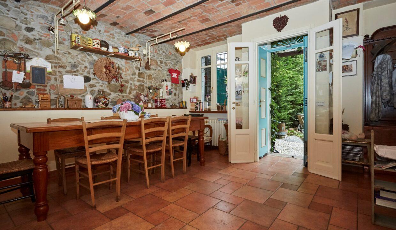 Villa Olginate cucina