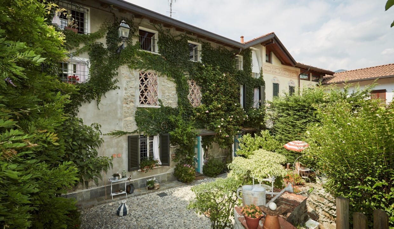 Villa Olginate facciata